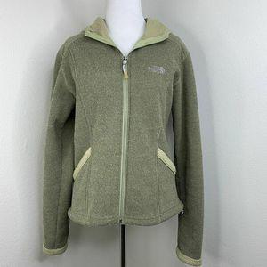 The North Face Full Zip Hoodie Fleece Jacket